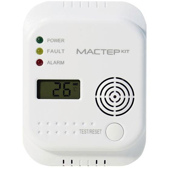 Детектор угарного газа Мастер Кит МТ8056