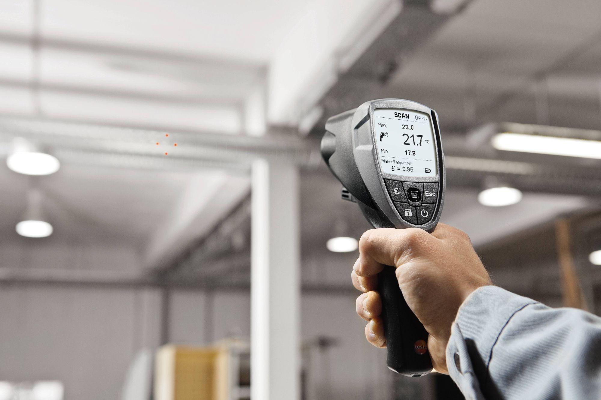 Инфракрасный термометр Testo 835-Т2